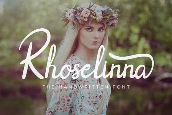 beautiful handwritten font
